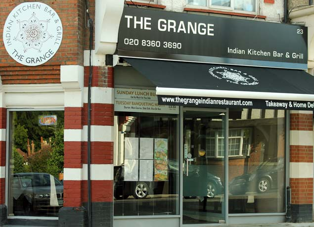 The Grange Indian Restaurant grange park London